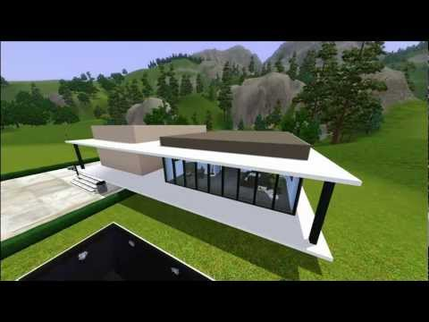 Ts3 Modern Minimalist House Download Included Youtube