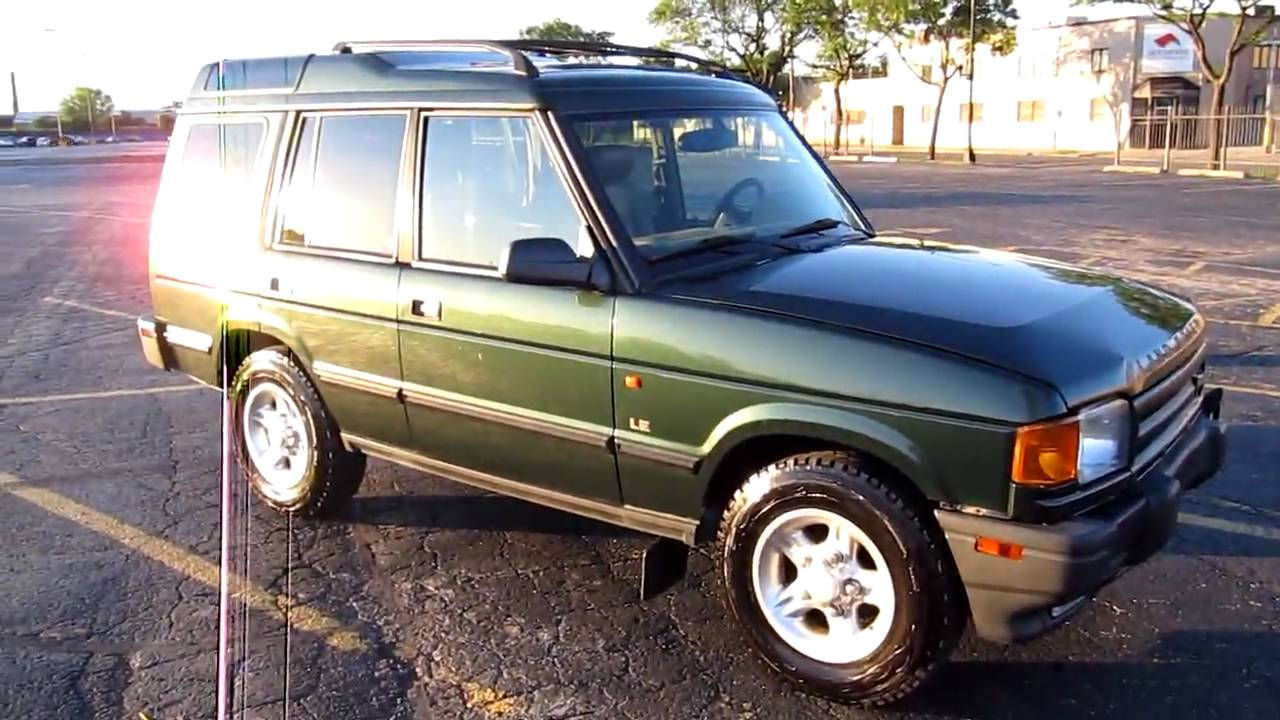 1998 Land Rover Discovery For Sale - YouTube