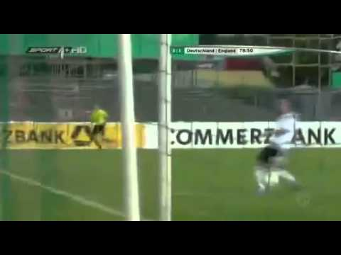 Samed Yesil Two Goals - Germany U19 3-1 England U19 - 06.09.2012