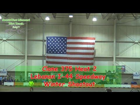 Clone 375 Heat 2  I 44 Speedway Winter Shootout 1 20 2018