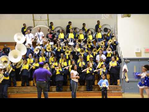 Levey Middle School Marching Band - Rock N Roll (Hey Song) - 2014