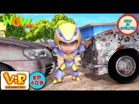 Vir: The Robot Boy - Car theif - As Seen On HungamaTV - IN ENGLISH