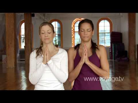 Urban Calm - Veronica Webb Yoga - New York City on Voyage.tv