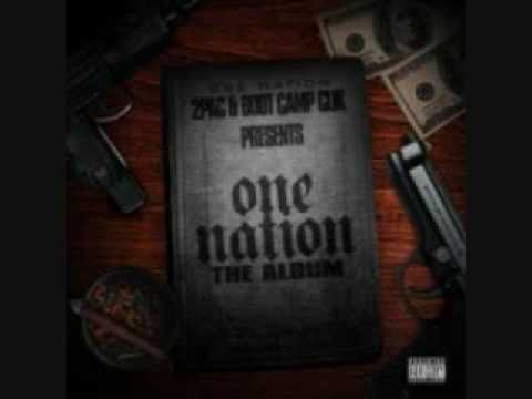 2pac Presents:One Nation Featuring BootCamp Click + Outlawz World Wide Dime Piece