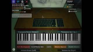 Notes dans Description Piano Roblox -Fr. Oogway Ascents Original (Kung Fu Panda)