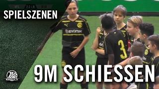 VfL Wolfsburg - Borussia Dortmund (U12 D-Junioren,  Spiel um Platz 7, AOK-Juniorenmasters 2017)