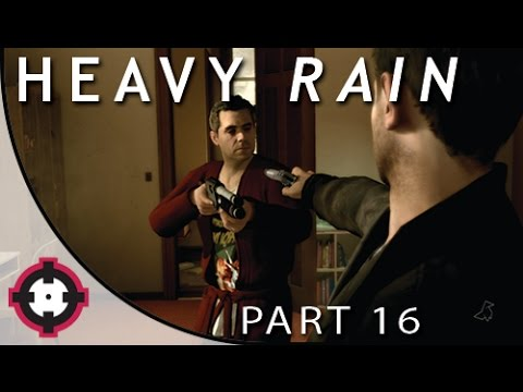 "Heavy Rain Blind Let's Play Gameplay PS4 // Part 16 - Trial #4 ""Murder"" (w/ a Special Guest!)"