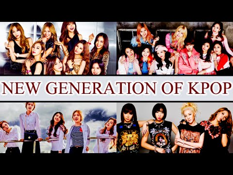 The Start Of A New Generation Of Kpop (Girl Groups)