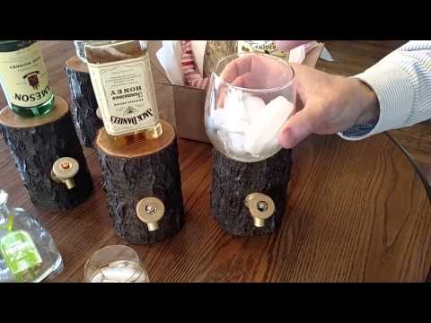 Liquor Dispenser Video - www.OhioWoodworkingShop.com