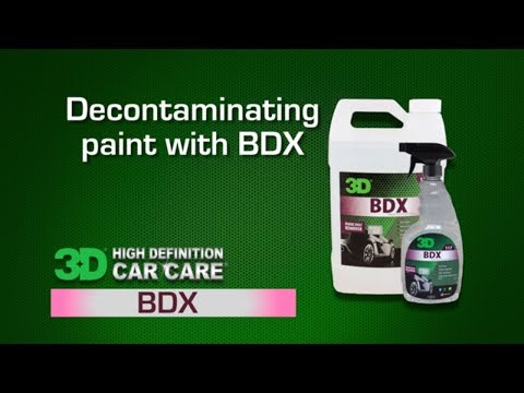 How to clay a car with BDX