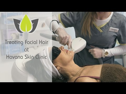 Laser hair removal face treatment  Havana Skin Clinic