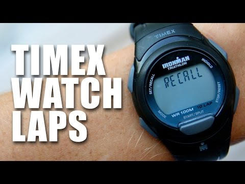 Timex Ironman Watch Lap Function