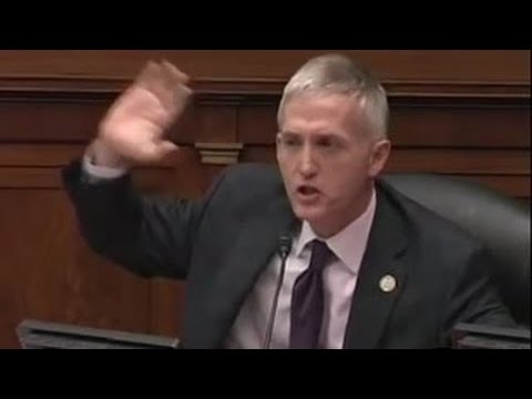 Trey Gowdy Meets Hillary Clinton's Spy