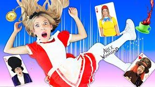 Giant Alice In Wonderland Hacker Party in Real Life | Rebecca Zamolo