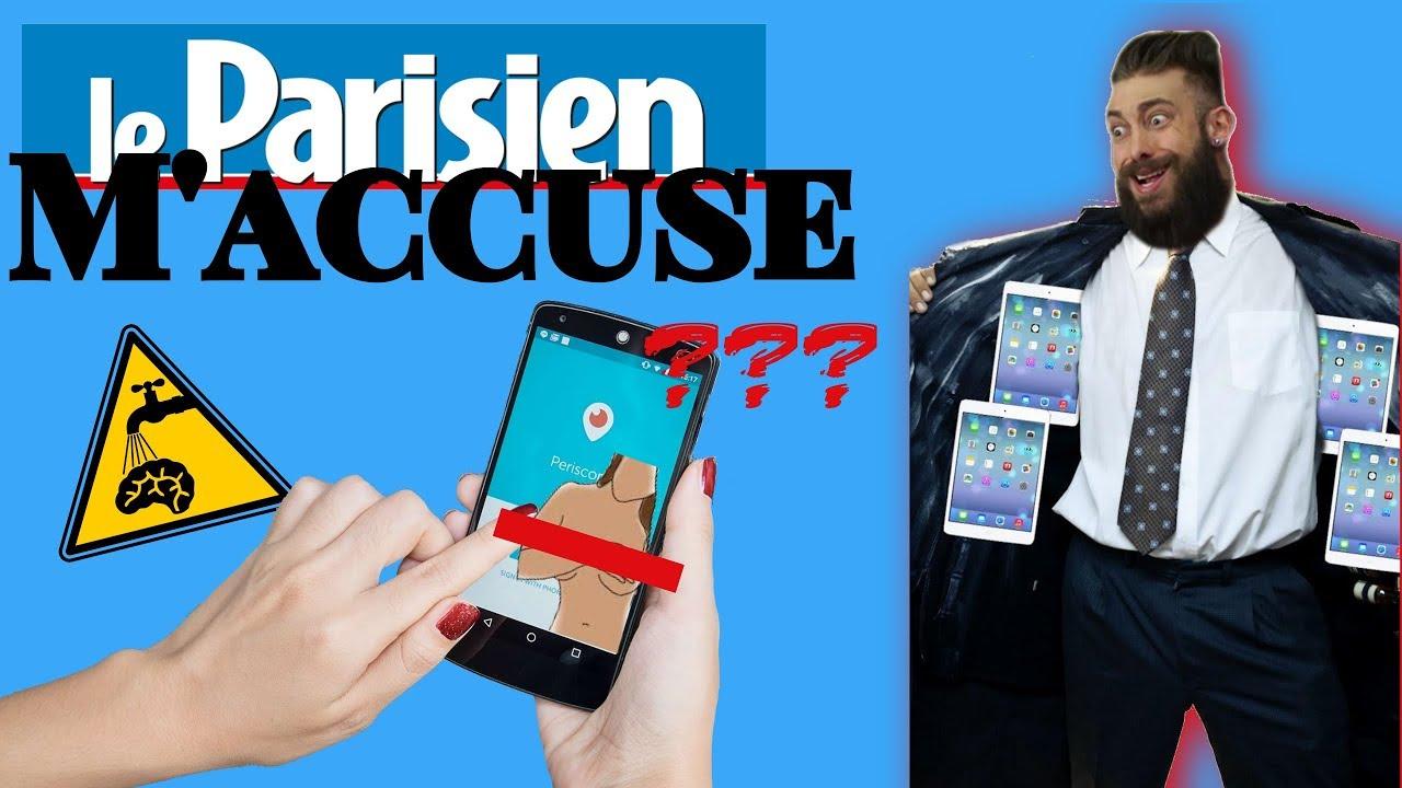 ***** Le Parisien Publie Un Article Diffamatoire À Mon Égard *****
