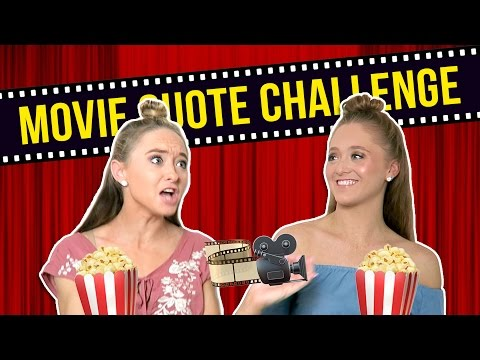 Thumbnail: The Movie Quote Challenge!! | The Rybka Twins