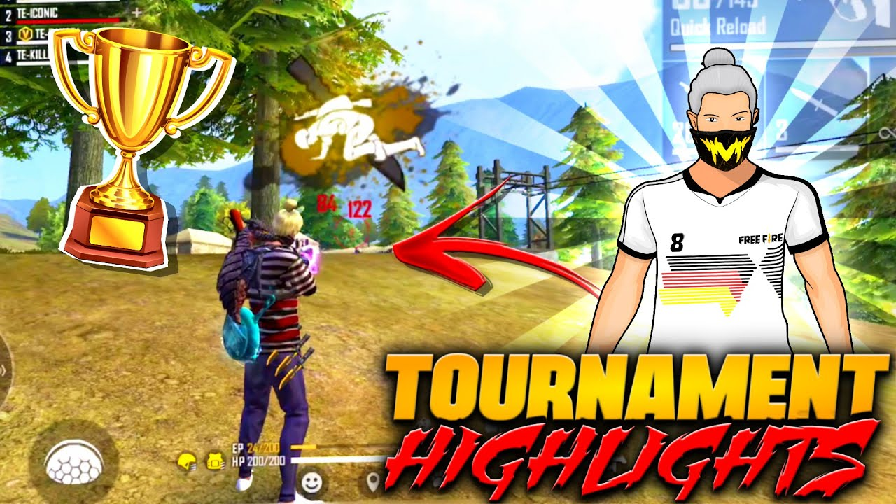 FREE FIRE PRO LEAGUE HIGHLIGHTS || TOURNAMENT HIGHLIGHTS BY KILLER FF