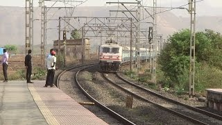 Set this music as ALARM TONE : Amazing Honking by BRC WAP5 with Pune Indore Express !!!