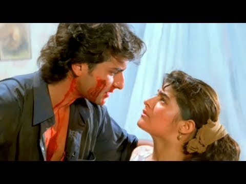 Saif, Twinkle, Shatrughan Sinha, Dil Tera Diwana - Action Scene 9/14