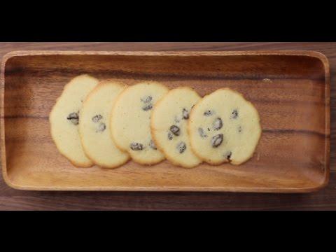 Raisin Cookies-How to make SHIRINI KESHMESHI