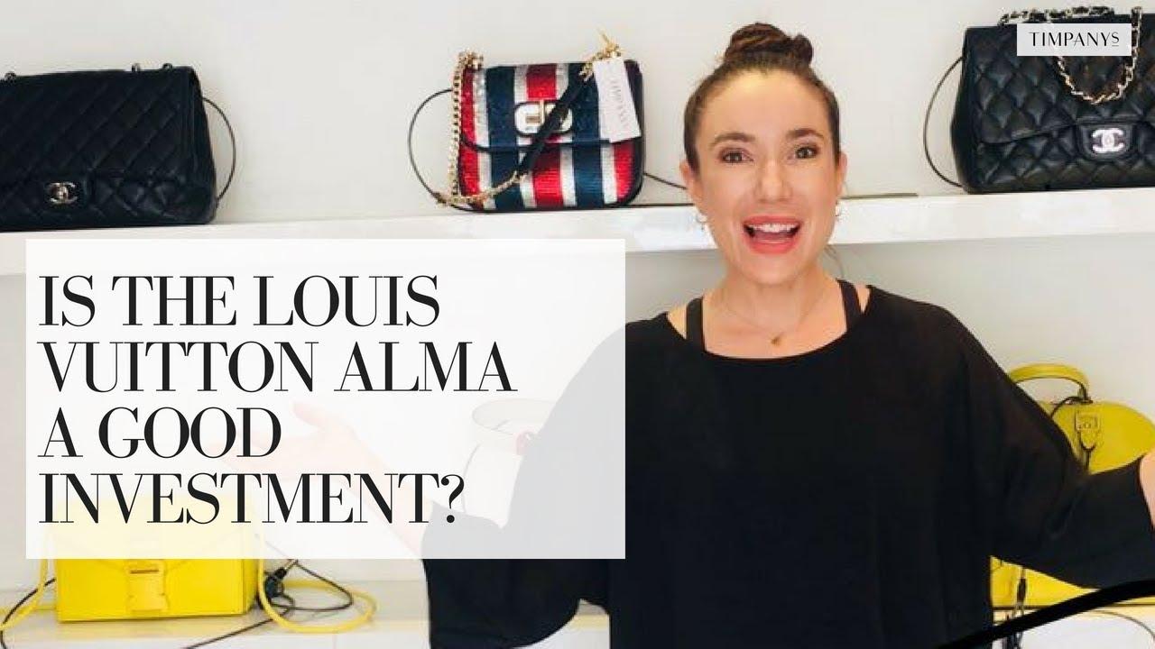 9b2b4e25ba35 IS THE LOUIS VUITTON ALMA A GOOD INVESTMENT  2018 - YouTube