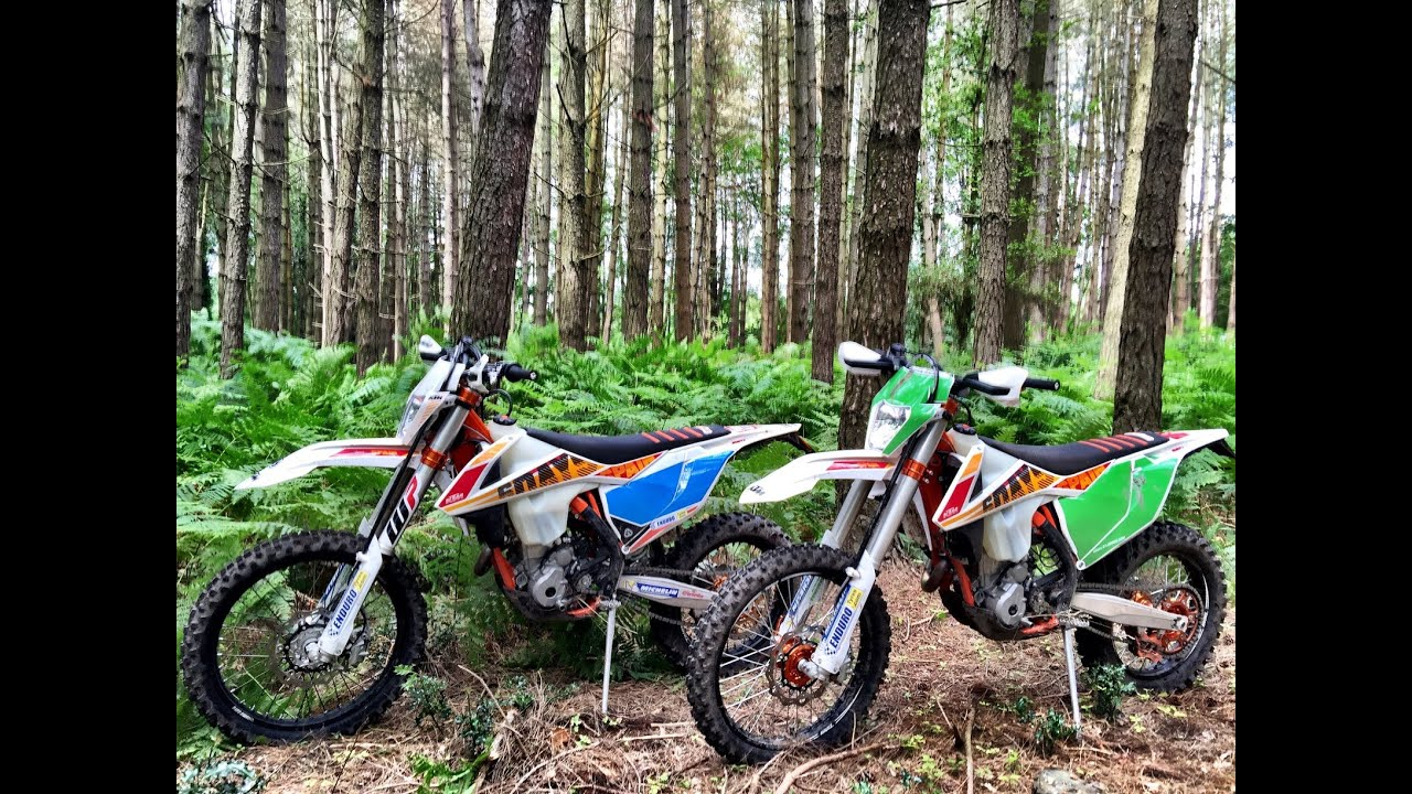 2017 ktm 350 exc six days mapping test ride review - youtube