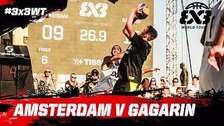 Amsterdam v Gagarin | Full Game | Quarter-Finals | FIBA 3x3 World Tour 2018 - Prague Masters 2018