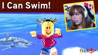 Roblox Swimming Sim - I Can Swim! RadioJH Games
