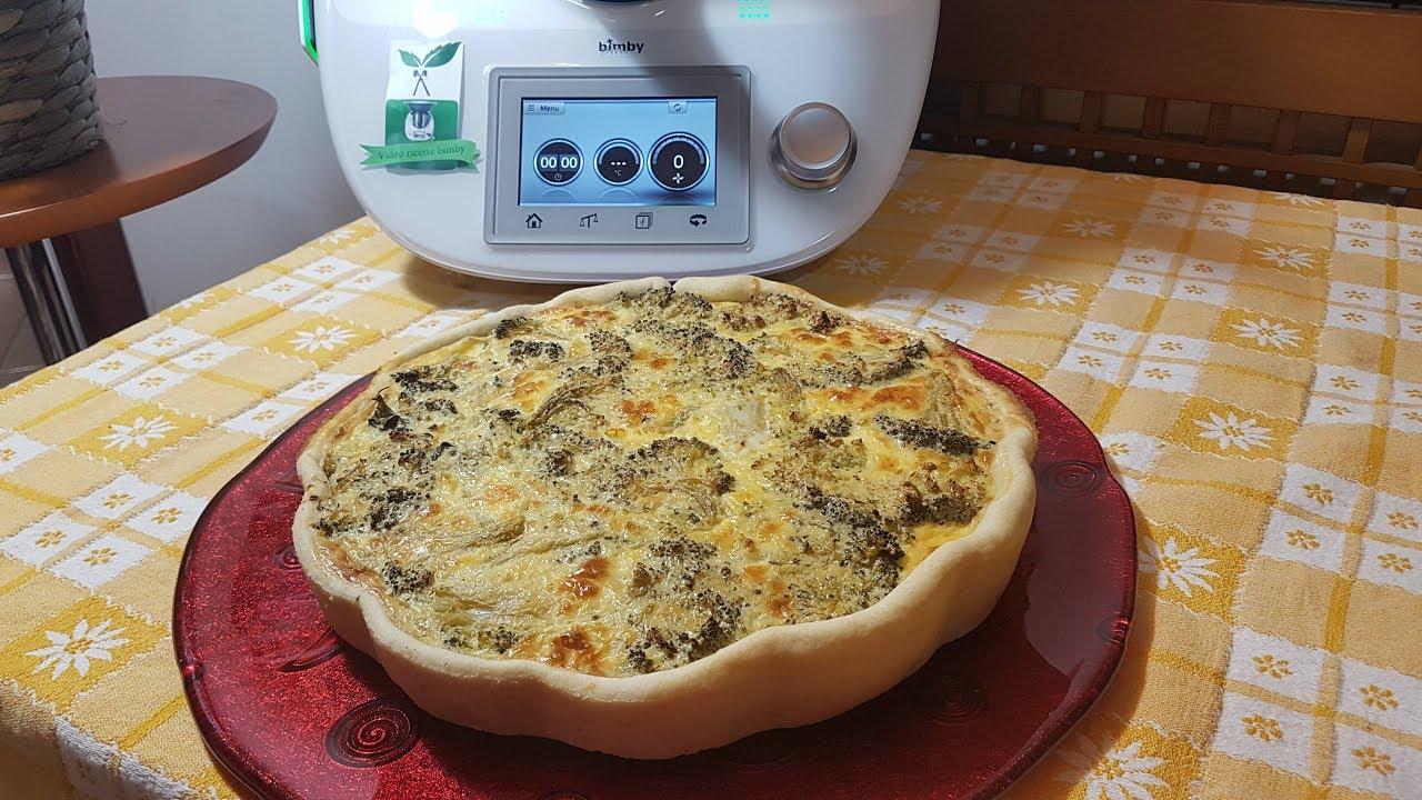 Ricetta Quiche Broccoli.Quiche Ai Broccoli Bimby Per Tm5 E Tm31 Youtube