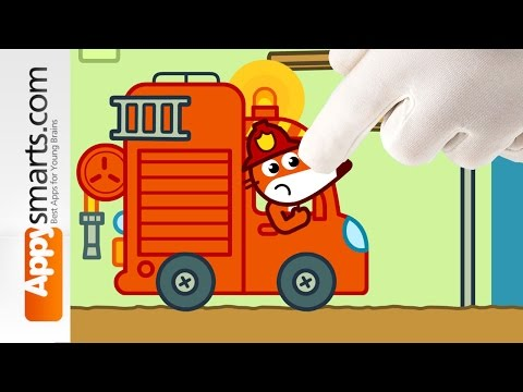 Kids Fire Engine Story from Pango Storytime (available for iPad/iPhone/Android)