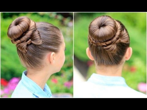 How to Create a Bow Bun  Prom Hairstyles  YouTube