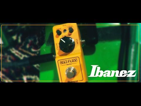 Ibanez new 850 Fuzz mini pedal FZ 2017 demo review