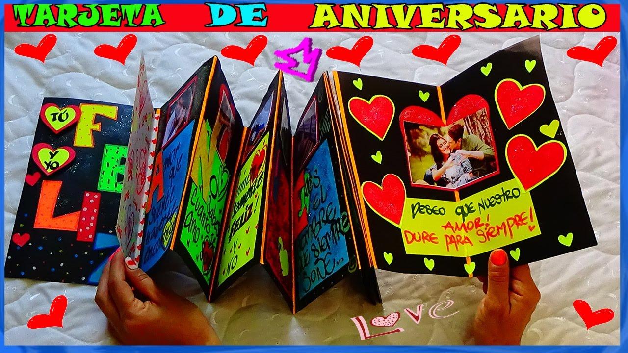 Tarjeta de Aniversario Anniversary Card Creaciones Betina YouTube