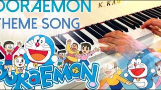 Doraemon Theme Song On Piano.