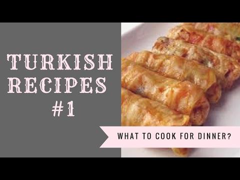 TURKISH RECIPES #1I ГОЛУБЦЫ ИЗ КАПУСТЫ - LAHANA DOLMASI