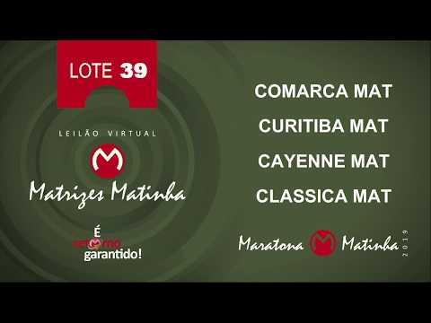 LOTE 39 Matrizes Matinha 2019