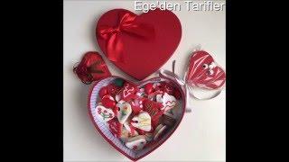 Şeker Hamurlu Sevgililer Günü Kurabiyesi Yapımı