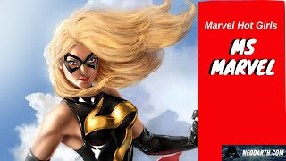 Marvel Hot Girls - Ms Marvel
