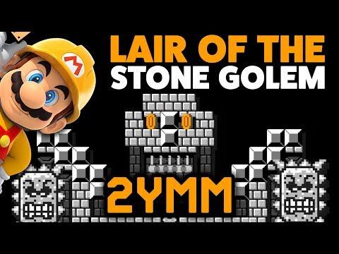 super-mario-maker-[2ymm]---lair-of-the-stone-golem-[#45]