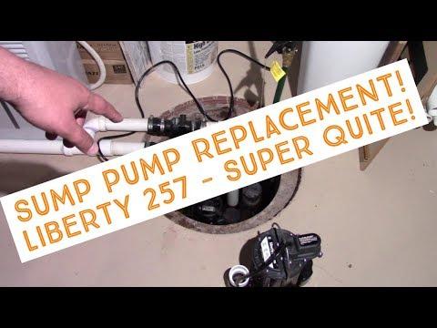 Liberty 257 - Sump Pump Install Amazingly Quite!