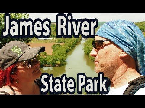 JAMES RIVER STATE PARK TOUR TOUR TOUR!