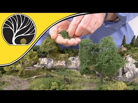 Model Railway Train Scenery -Simple Tips for Modeling Realistic Trees – Model Scenery | Woodland Scenics