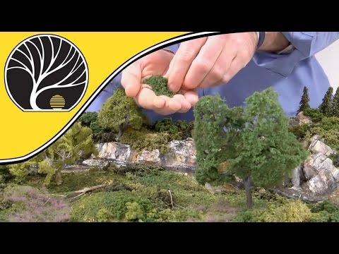 Model Railway Train Scenery -Simple Tips for Modeling Realistic Trees – Model Scenery | Woodland Scenics
