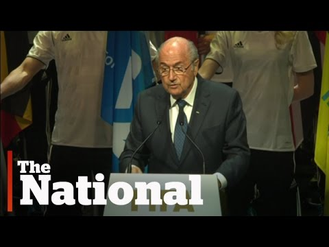 FIFA president Sepp Blatter speaks out
