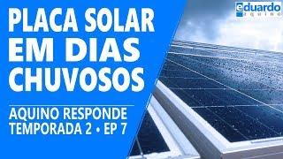Placa Solar Gerando em DIA NUBLADO | T8 • #217
