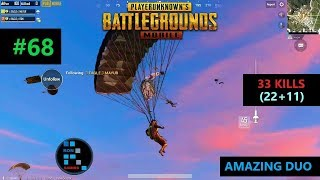Hindi PUBG MOBILE  \33 KILLS\ AMAZING DUO MATCH POCHINKIS DON IS BACK IN ACTION