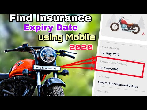 How To Check Vehicle Insurance Details In Online | Using Mobile Within 1 Minute |