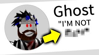 Is The Roblox Ghost FAKE? (the truth)