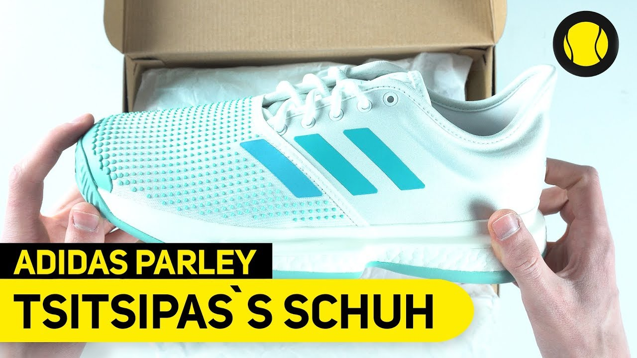 Stefanos Tsitsipas`s Adidas SoleCourt Boost X Parley | Hands On | Tennis Point
