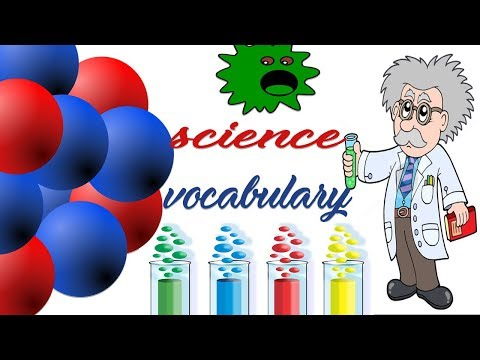 Vocabulary Practice| Science Vocabulary| English Words | Toddler Learning  | Kids